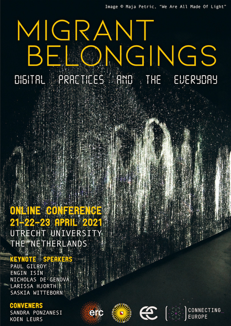Poster Migrant Belongings conference